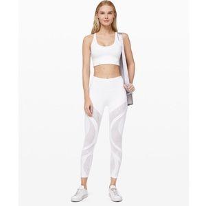 White Lululemon Leggings • Size 4